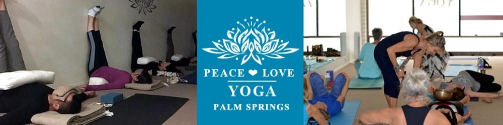Peace Love Yoga Palm Springs